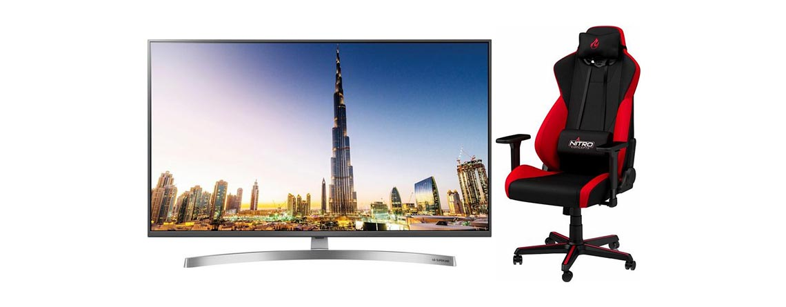 OTTO Angebote: LG 4K TV, Gaming-Stuhl und Gaming-Monitor stark reduziert