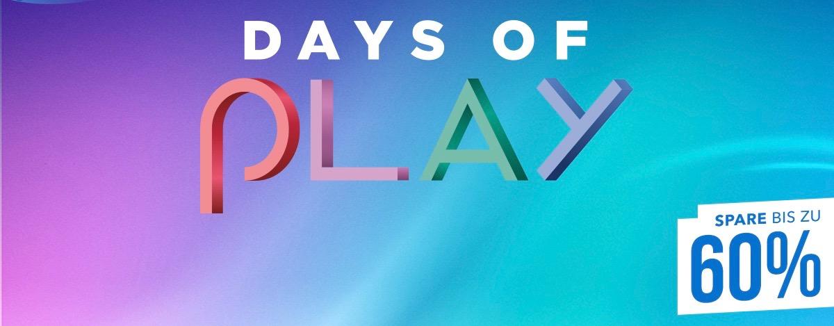 Days of Play im PS Store: Blockbuster-Schnäppchen mit bis zu 60% Rabatt