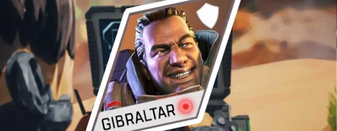 """Gibraltars neues Portrait in Apex Legends sieht aus, """"als wolle er heimlich furzen"""""""