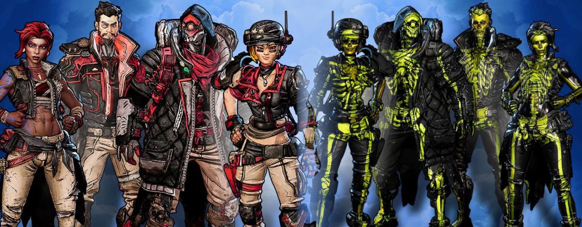 Borderlands 3 will Euch mit diesen Skins zur Deluxe-Version verleiten