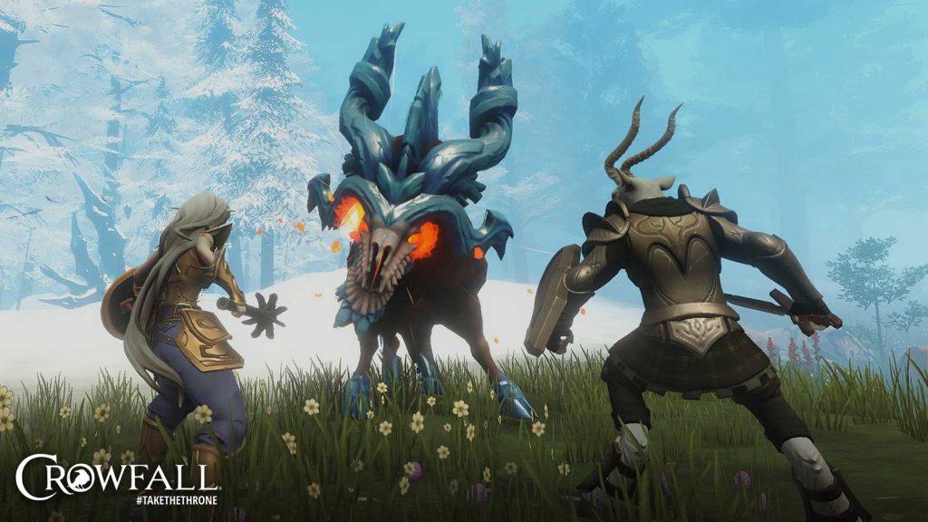 Crowfall The Fortunes of War Kampf gegen Monster