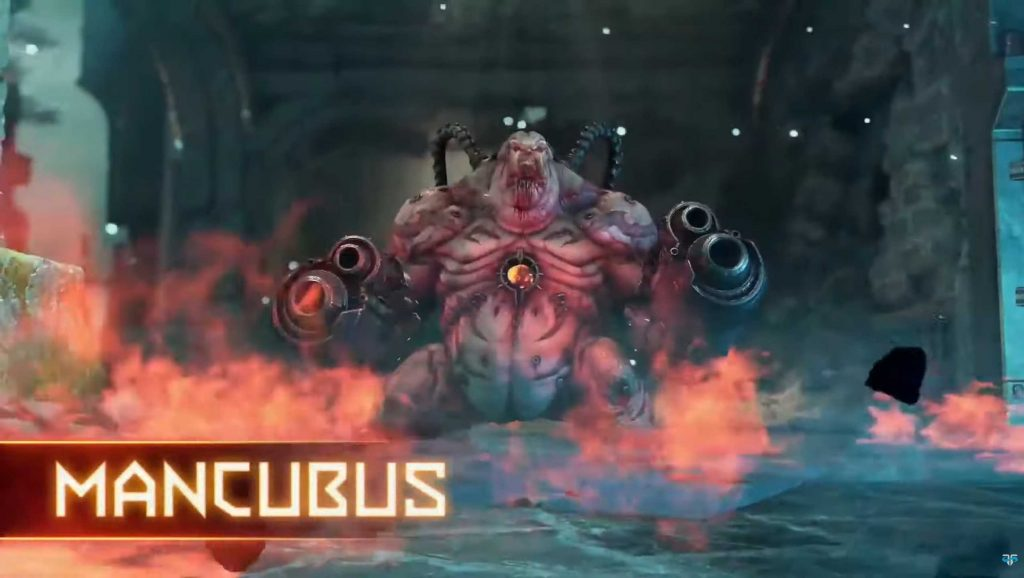 DOOM Eternal PvP Dämon Mancubus