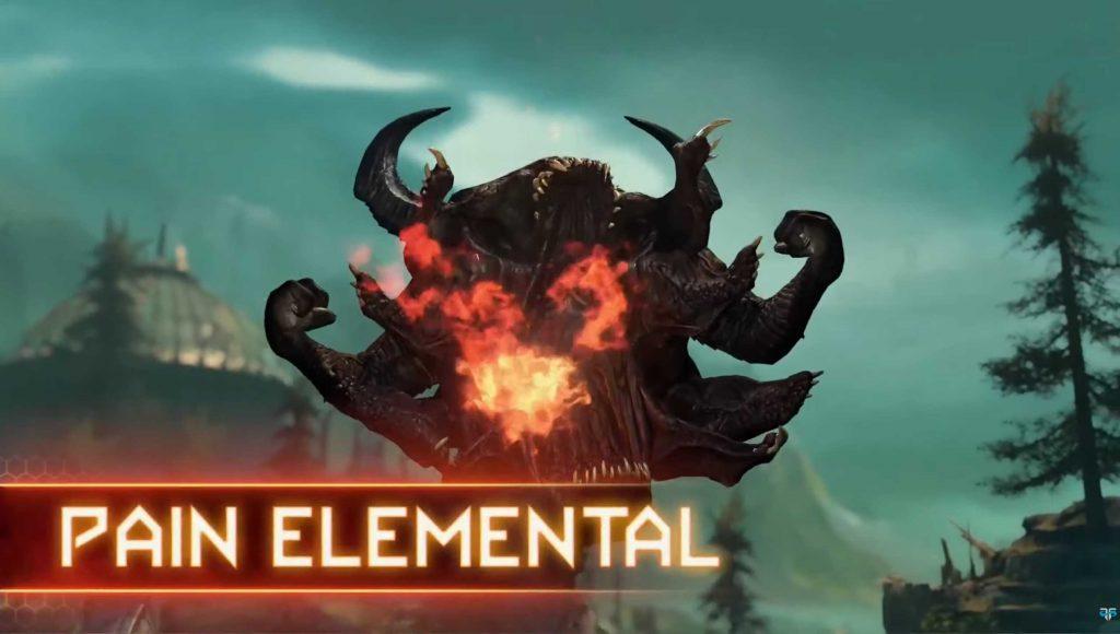 DOOM Eternal PvP Dämon Pain Elemental