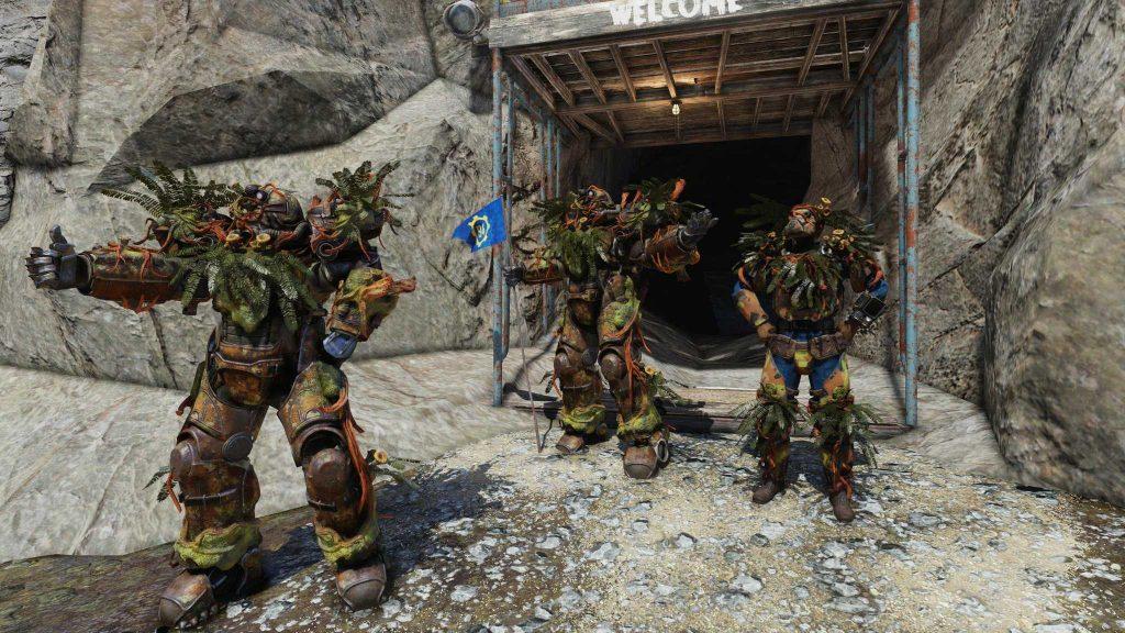 Fallout 76 Vault 94 Raid Topfpflanzen Powerrüstung