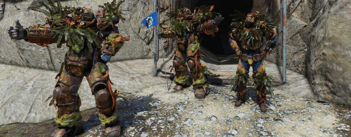 Fallout 76 bekommt Raids schon im August mit Pflanzen als neue Rüstung