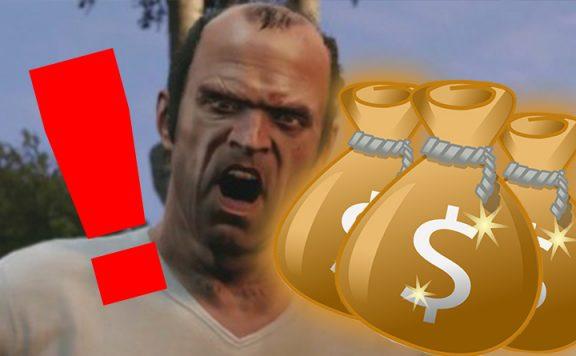 GTA Online Trevor Geld Warnung