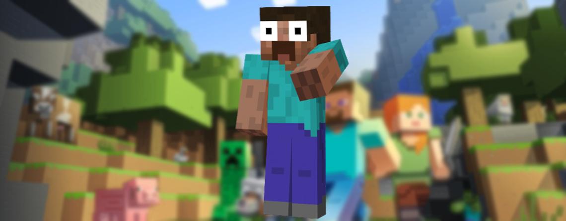 Jemand hat Minecraft durchgespielt, ohne einen Schritt zu laufen