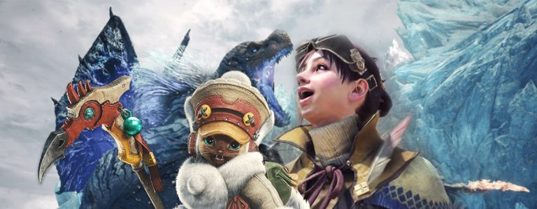 Monster Hunter World Iceborne Titelbild
