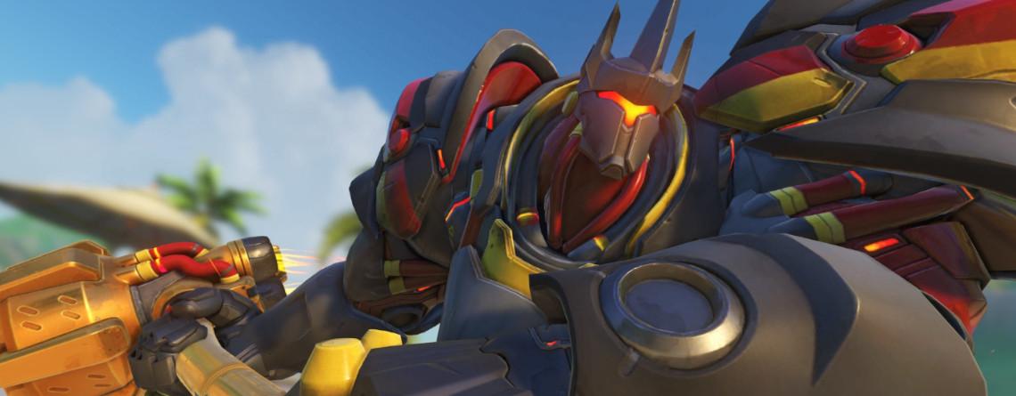 Overwatch: Verrückter Bug lässt alle fliegen, sogar den schweren Reinhardt
