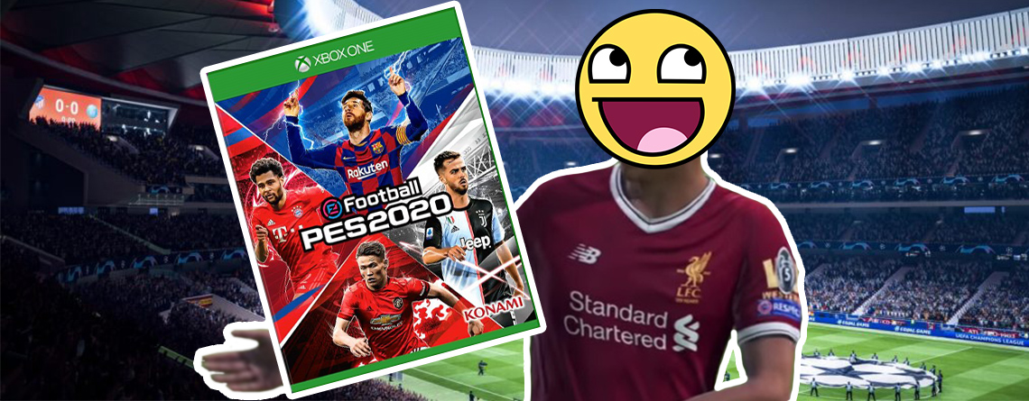 FIFA 20: Deshalb lachen FIFA-Fans über das Cover von PES 2020