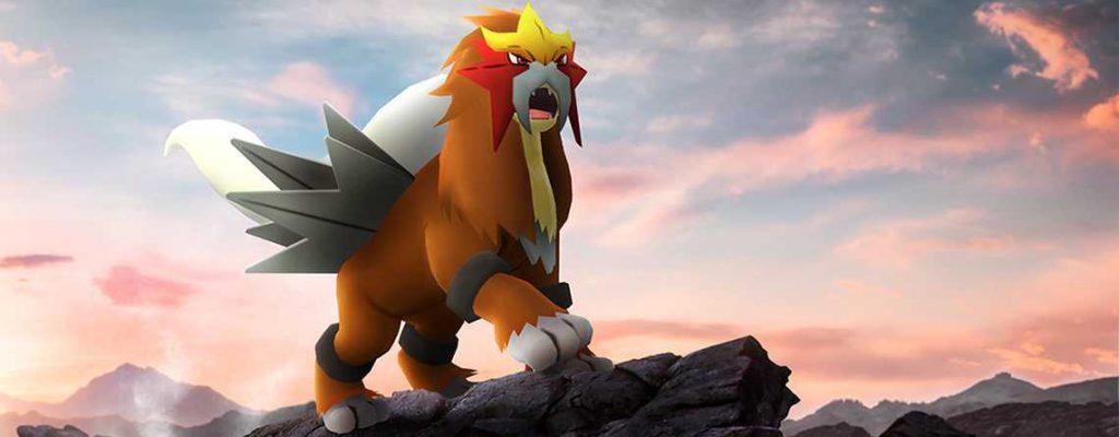 Pokemon GO Entei Titel