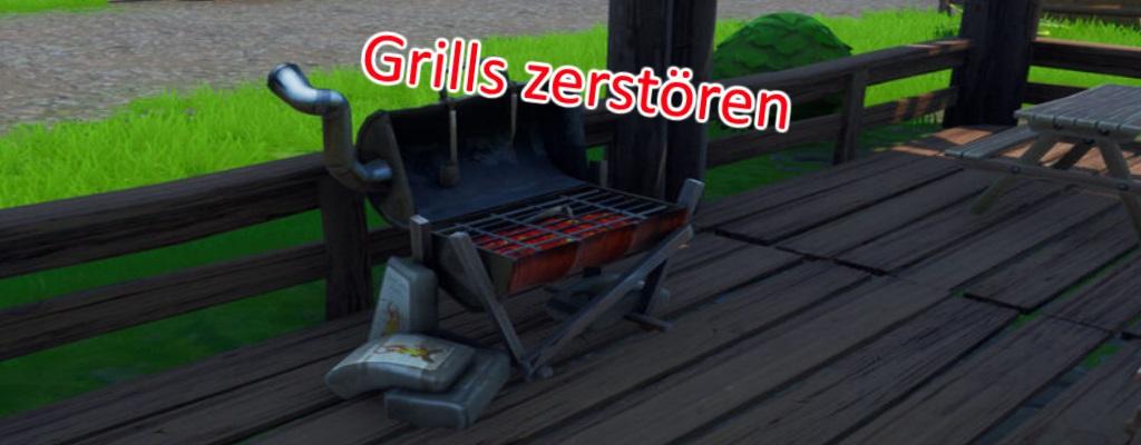 """Fortnite: Zerstöre Grills mit Erntewerkzeug """"Grillarsenal"""" – Alle Fundorte"""