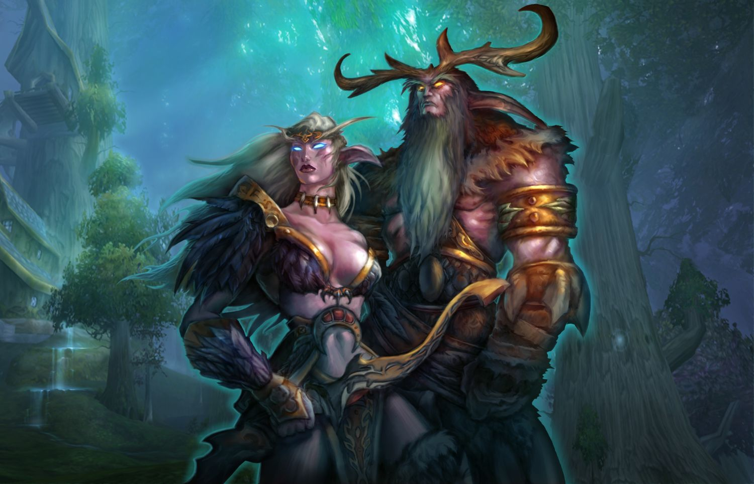 WoW Druid Artwork