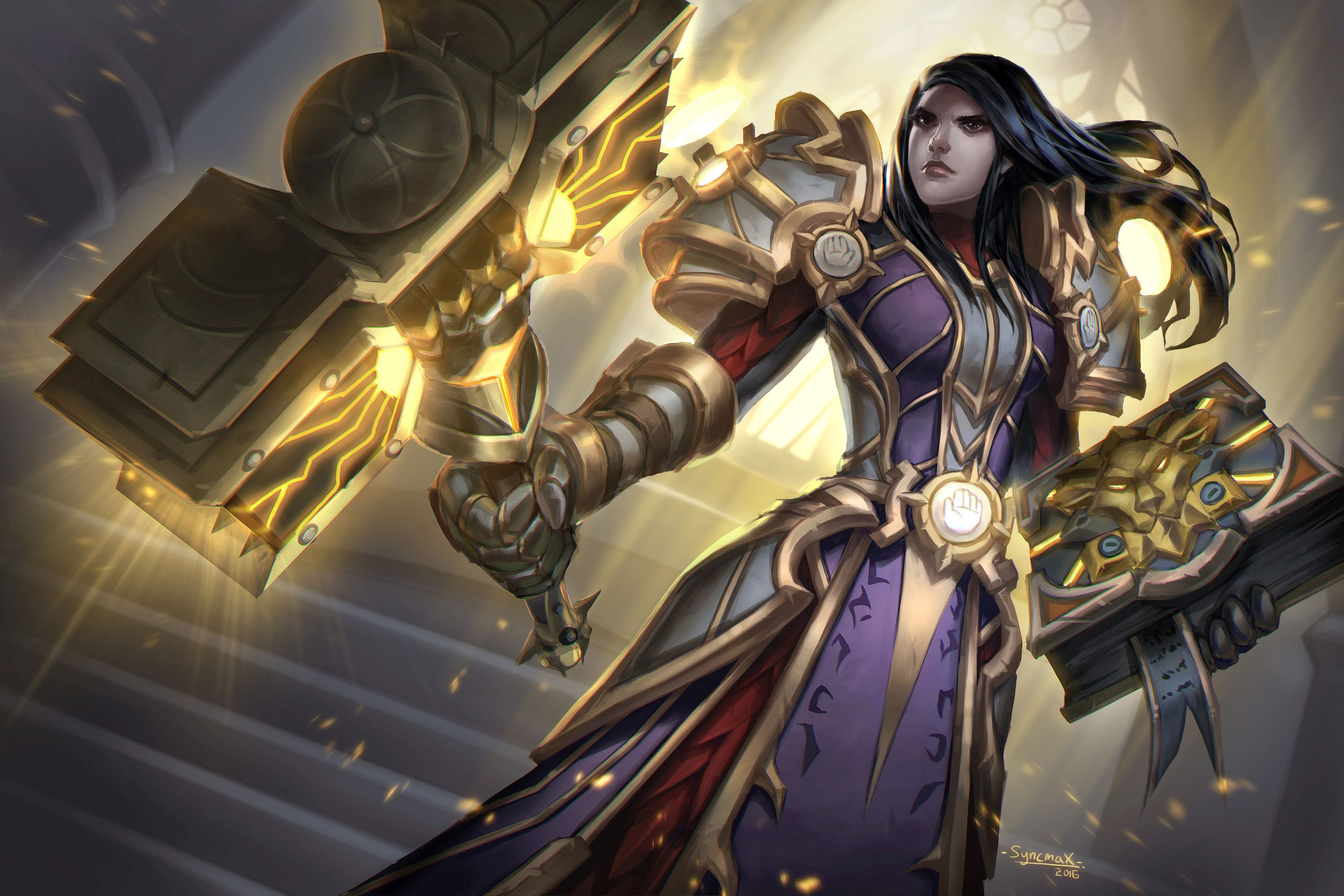 WoW Paladin Artwork