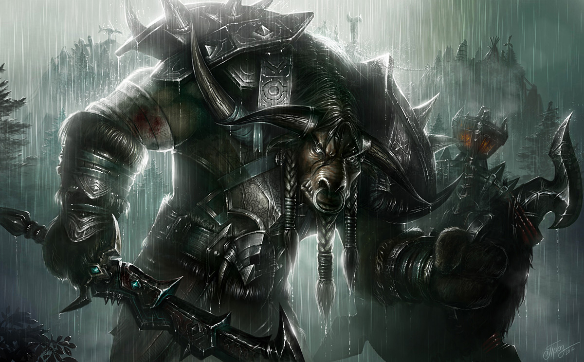 WoW Warrior Artwork