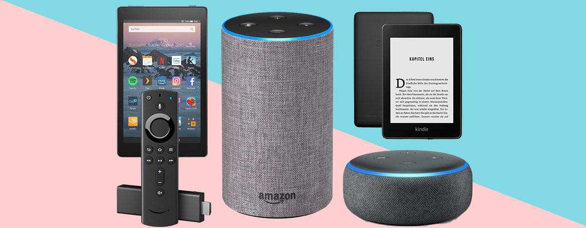 Amazon Geräte am Prime Day: Echo, Kindle und Fire TV stark reduziert