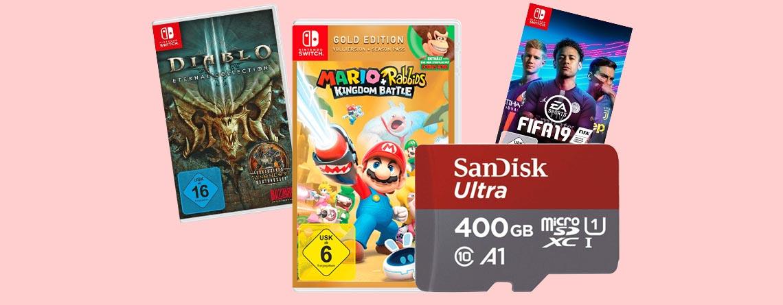 Die besten Nintendo Switch Angebote am Amazon Prime Day