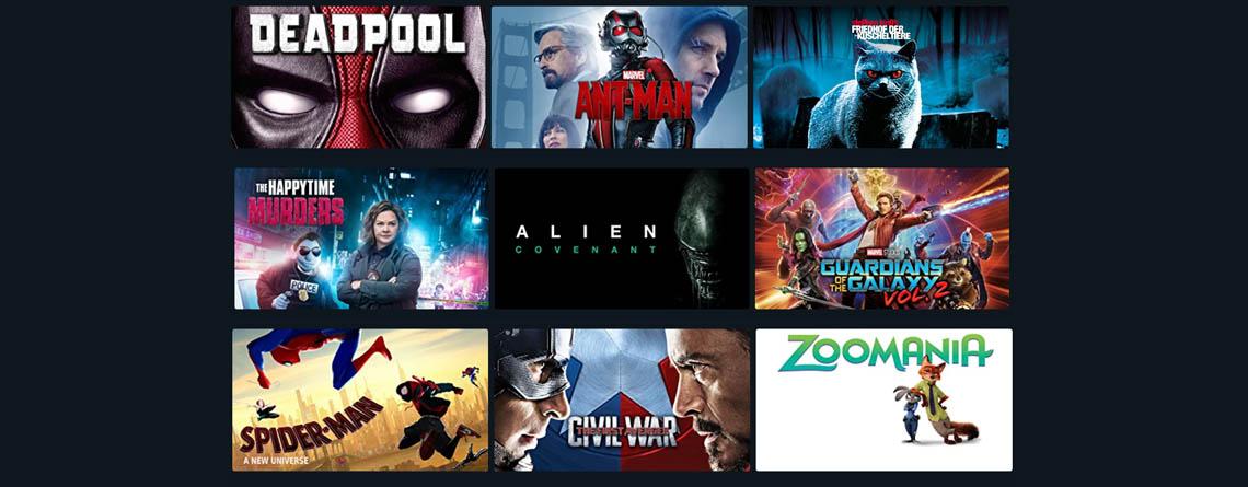 Amazon Prime Video: Über 500 Filme für je 99 Cent leihen