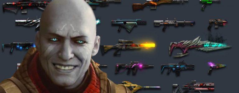 Destiny 2 Plain Ben Waffenzeichnungen Titel