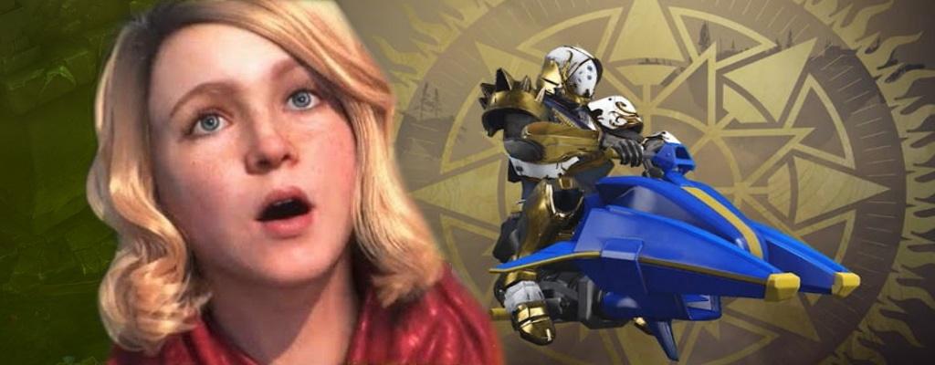 Spieler sehen auf den neuen Flitzern in Destiny 2 lächerlich aus, haben aber Spaß dabei