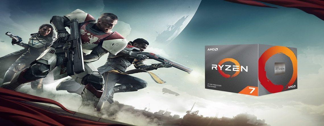 Wer Destiny 2 auf PC spielt, kann nun sorglos den Ryzen 3000 kaufen
