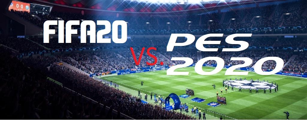 FIFA 20 vs. PES 2020 – Ein klarer Sieg für EA Sports?