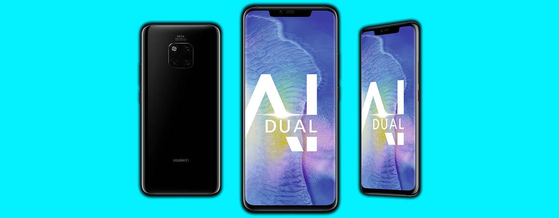 Top-Handytarif bei MediaMarkt: Huawei Mate 20 Pro für 14,99€ pro Monat