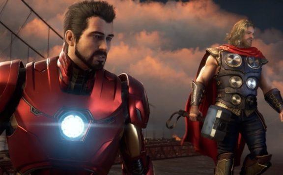 marvels avengers thor ironman