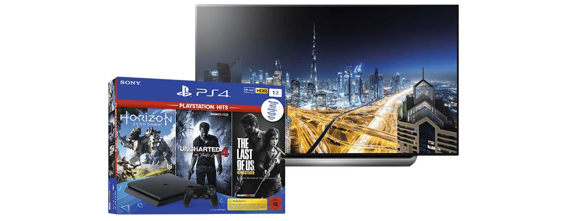 Saturn Prospekt: LG OLED 4K TV, PS4 Bundle und weitere Angebote