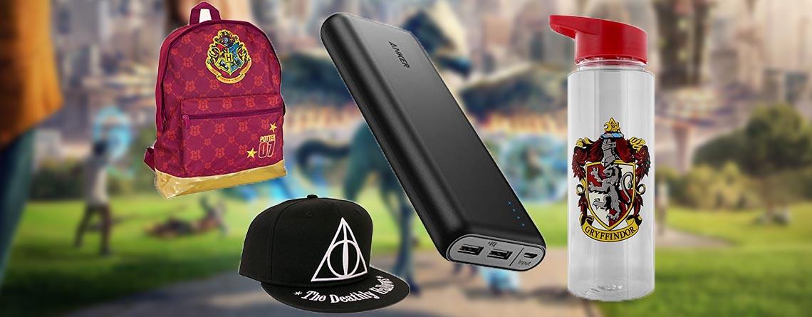 Wizards Unite Zubehör kaufen: Powerbank, Trinkflaschen und Caps