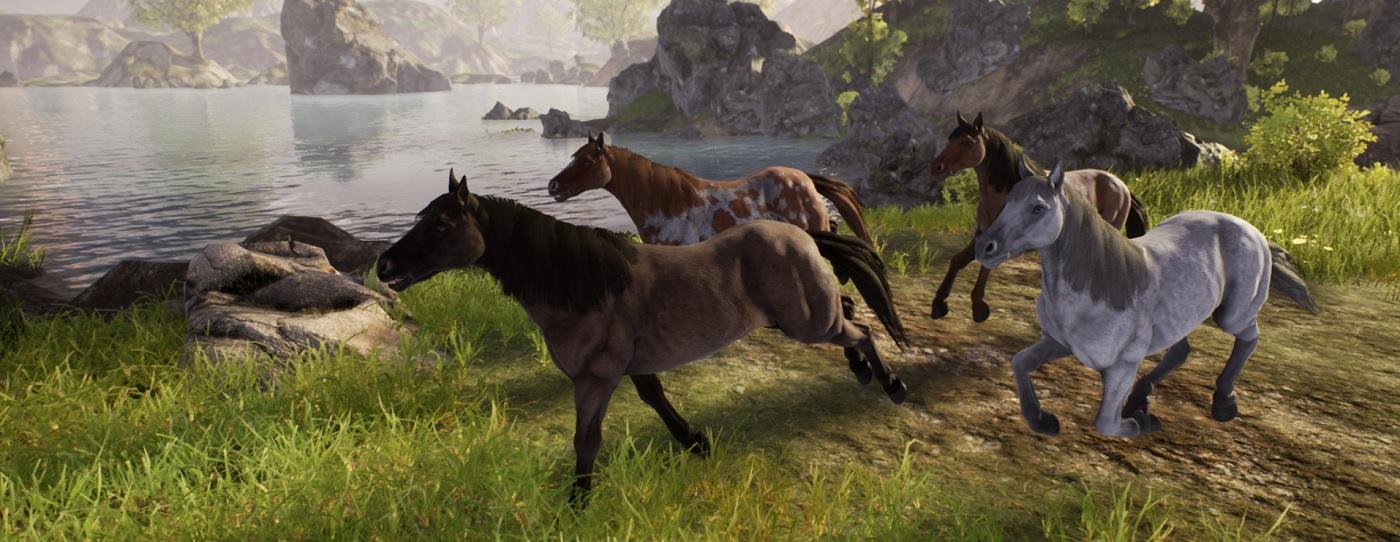 So wunderschön sehen die ersten Reittiere im MMORPG Ashes of Creation aus