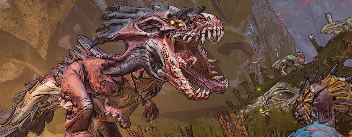 Borderlands 3 hat Dinosaurier, auch wenn es sie anders nennt