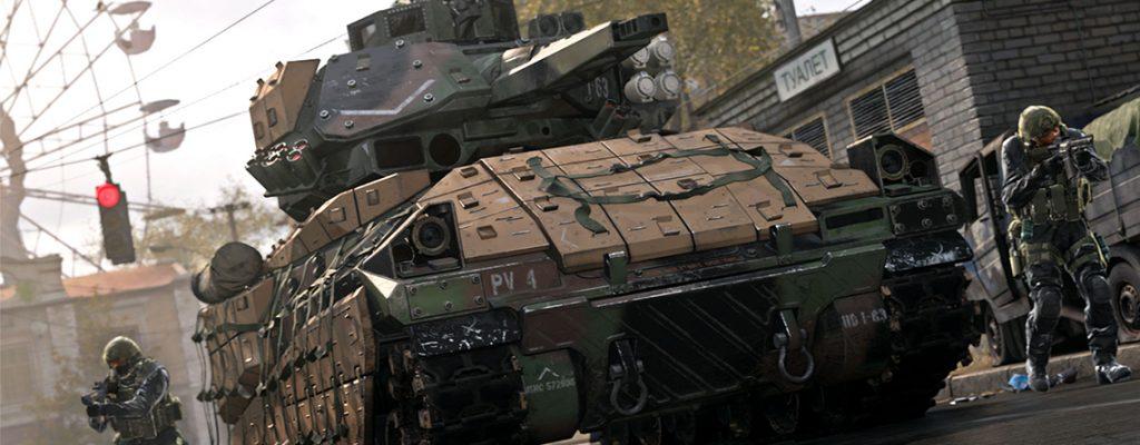 Call of duty modern Warfare Panzer