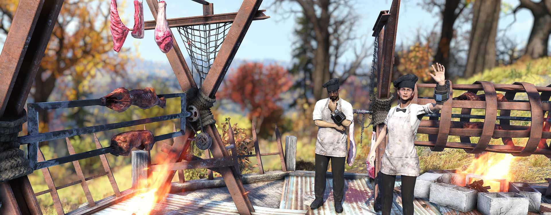 Fallout 76 will Euch ab jetzt mit Fleisch besänftigen – Patch Notes zu Patch 11.5