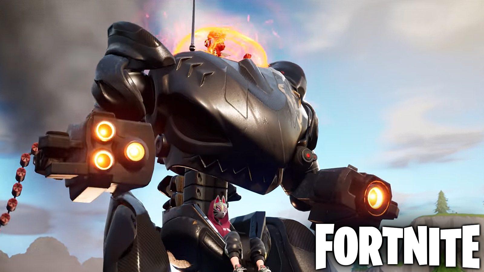 In Fortnite explodieren die verhassten Mechs jetzt sofort, wenn sie landen