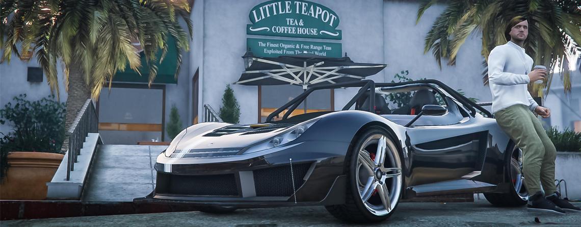 In GTA Online gibt's jetzt den Sportwagen Locust – Lohnt sich der Kauf?