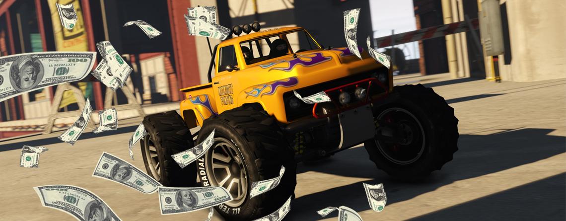 Schnappt euch in GTA Online jetzt 200.000 GTA-$ für dieses RC-Bandito-Rennen
