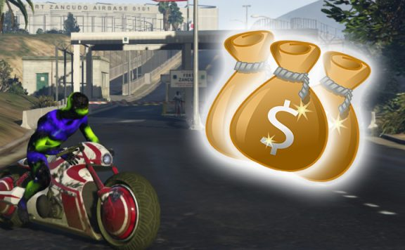 GTA Online Zancudo Titel