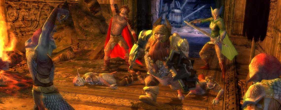 """MMORPG Herr der Ringe Online bekommt """"große"""" Zwerge als neue, spielbare Rasse"""