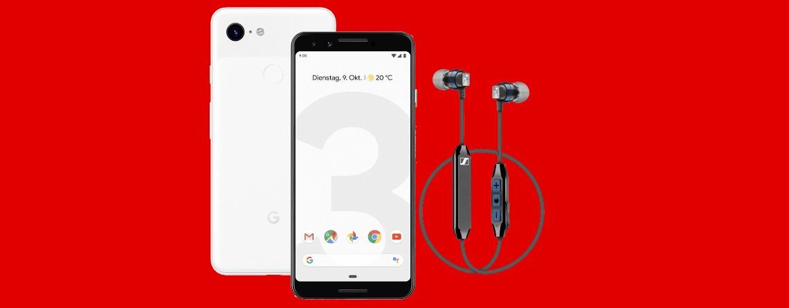 Googles Top-Smartphone Pixel 3 mit Tarif bei MediaMarkt extra günstig