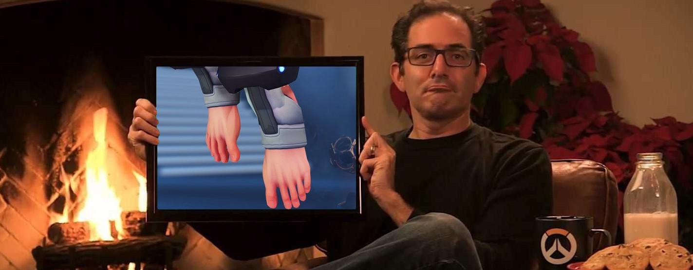 """Overwatch-Chef entschied, dass Sigma nackte Füße hat – Wusste, """"dass es ein Ding wird"""""""