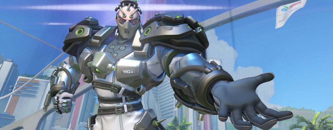 Der neue Overwatch-Held Sigma hat richtig coole Skins – Schaut sie hier an