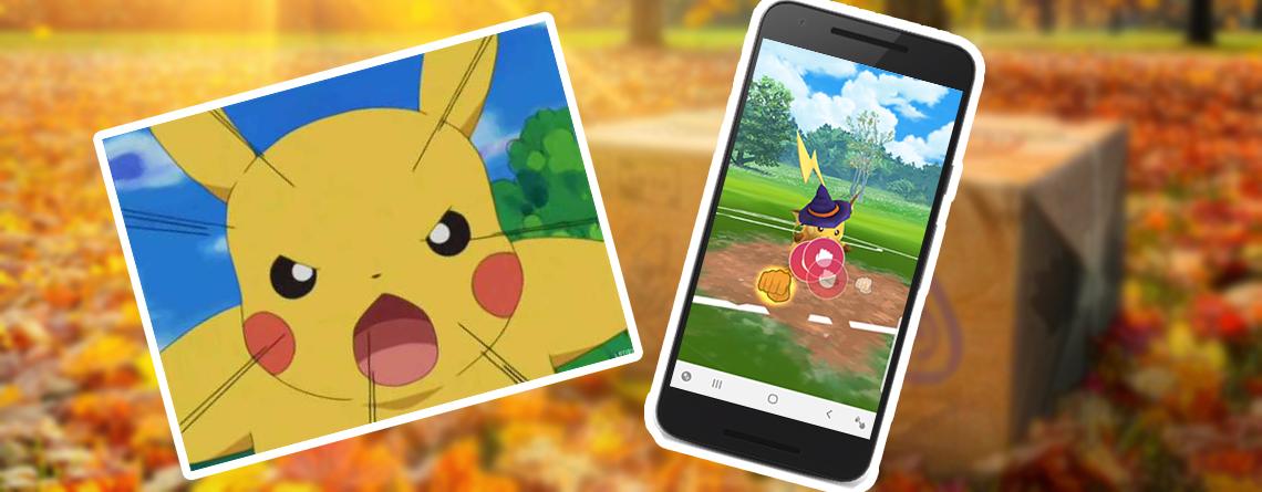 Jüngstes Update in Pokémon GO verärgert Spieler mit Gaming-Smartphones