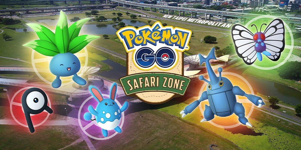 Pokemon GO Safari Zone