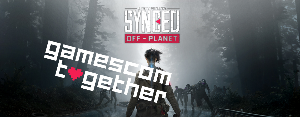 Seid live dabei, wenn wir heute den neuen MMO-Survival-Shooter Synced vorstellen