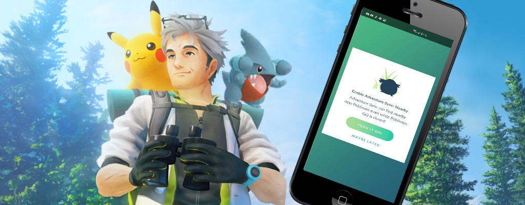 Pokémon GO findet jetzt auch bei geschlossener App Pokémon für euch