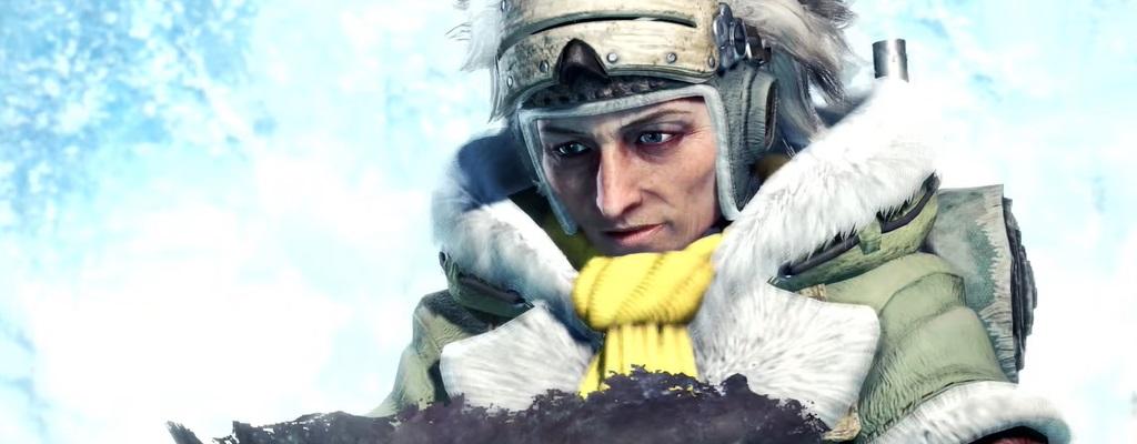 Neuer gamescom-Trailer zu Monster Hunter World: Iceborne zeigt mächtiges Wasser-Monster