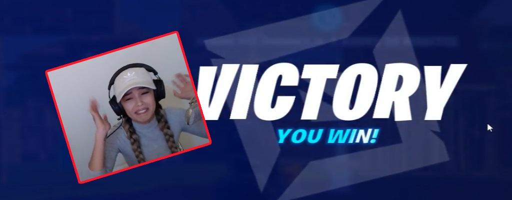 Twitch-Streamerin gewinnt Match in Fortnite so unfair, dass es Ihr peinlich ist