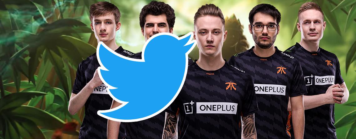 Twitter löscht eSports-Team Fnatic, weil sie zu jung sind – Andere Clans machen sich lustig