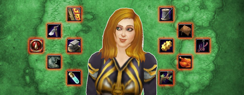 WoW Professions Female Mage glancing title 1140x445